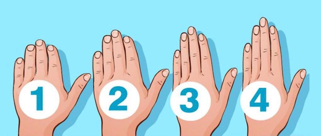 Тест: Мінезіңізді саусақтар арқылы анықтаңыз